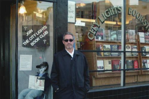 At City Lights Bookstore