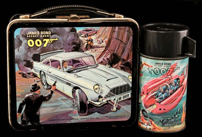 James Bond Lunch Box