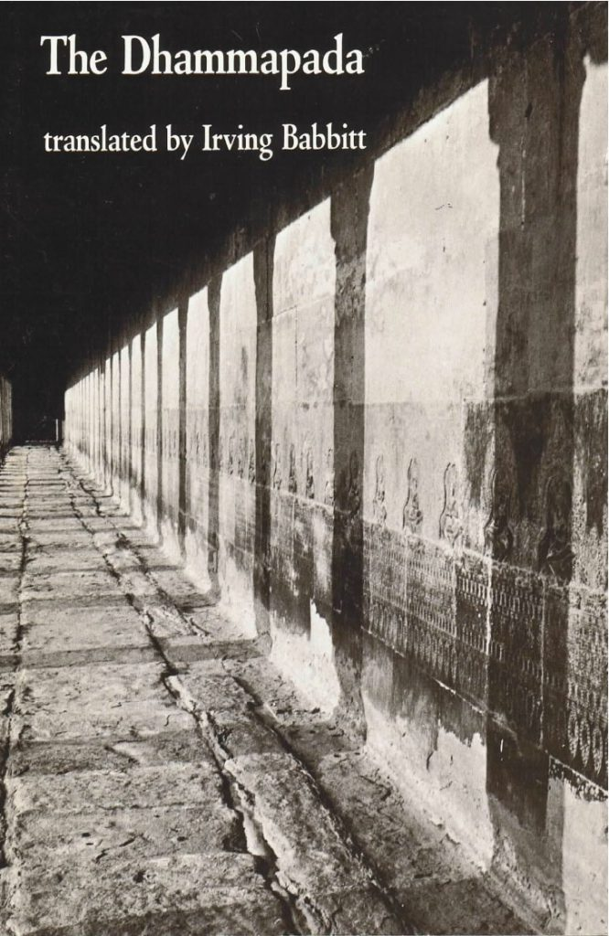 Dhammapada (tr. Babbitt)