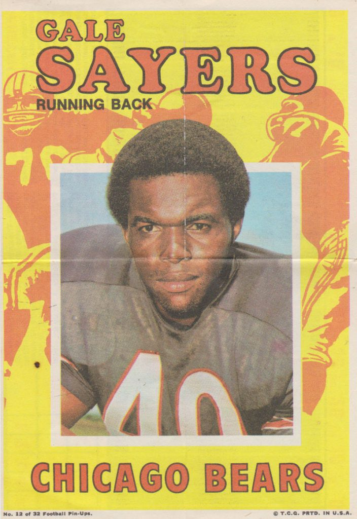 Gale Sayers Poster