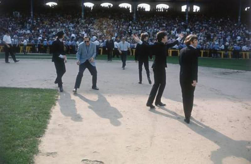 The Beatles at Comiskey 01