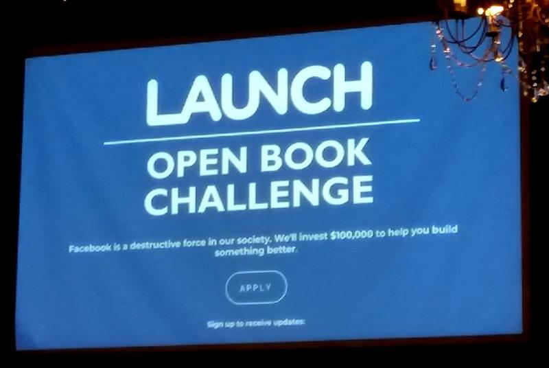Slide from Social Media Strategies Summit in Chicago